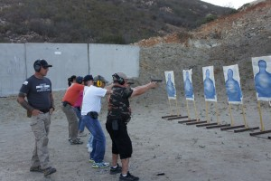basic pistol training course taught by Matt Klier