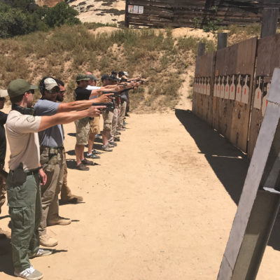 Pistol training course in san diego