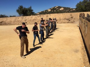 Combat pistol course